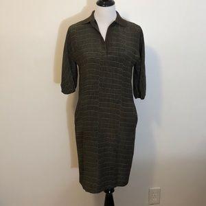 Dresses & Skirts - Designer dress made in France crocodile print 1